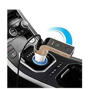 Love4ride Assorted Colour Car Mobile Charger with CARG7 Bluetooth Car Kit 590