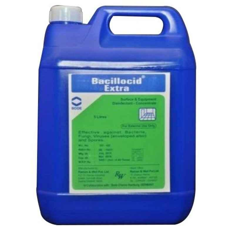 R&W Extra 5L Blue Surface & Equipment Disinfectant