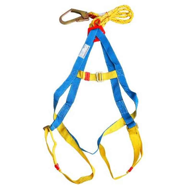 Arcon Single Rope Full body with Scaffold Hook Industrial Safety Belt, ARC-5103