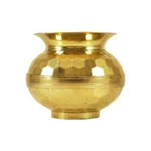Healthchoice 3.5 inch Brass Gold Worthway Pooja Lota
