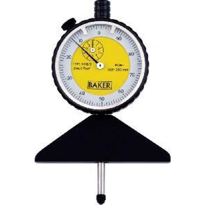 Baker 200mm Dial Depth Gauge K158/0