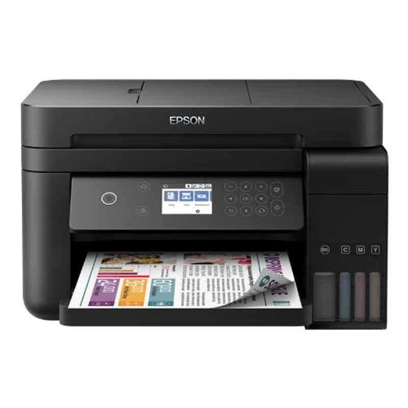 Epson L6170 Wi-Fi Duplex Multifunction Ink Tank Printer with ADF & 1 Year Warranty