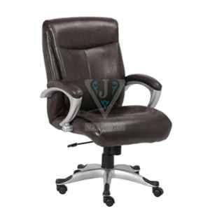 VJ Interior 18 inch Brown Executive Office Chair, VJ-1320
