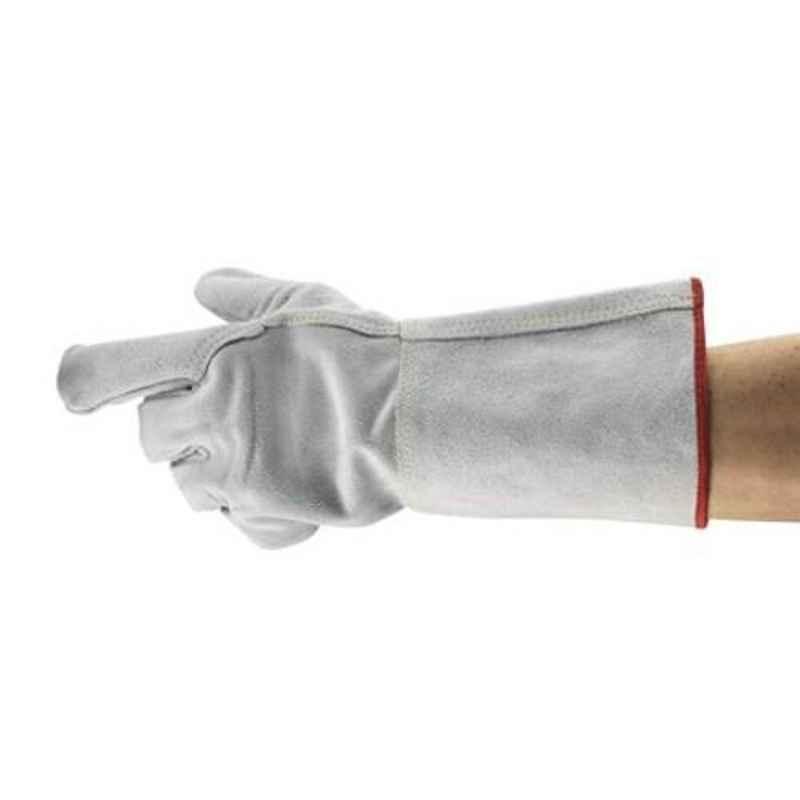 Ansell EDGE Grey Lenzing FR & Kevlar Industrial Hand Gloves, Size: 10, 48-216 (Pack of 12)