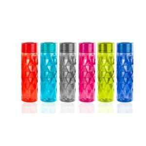 Generic 6 Pcs 1L Multicolour Plastic Water Bottle Set