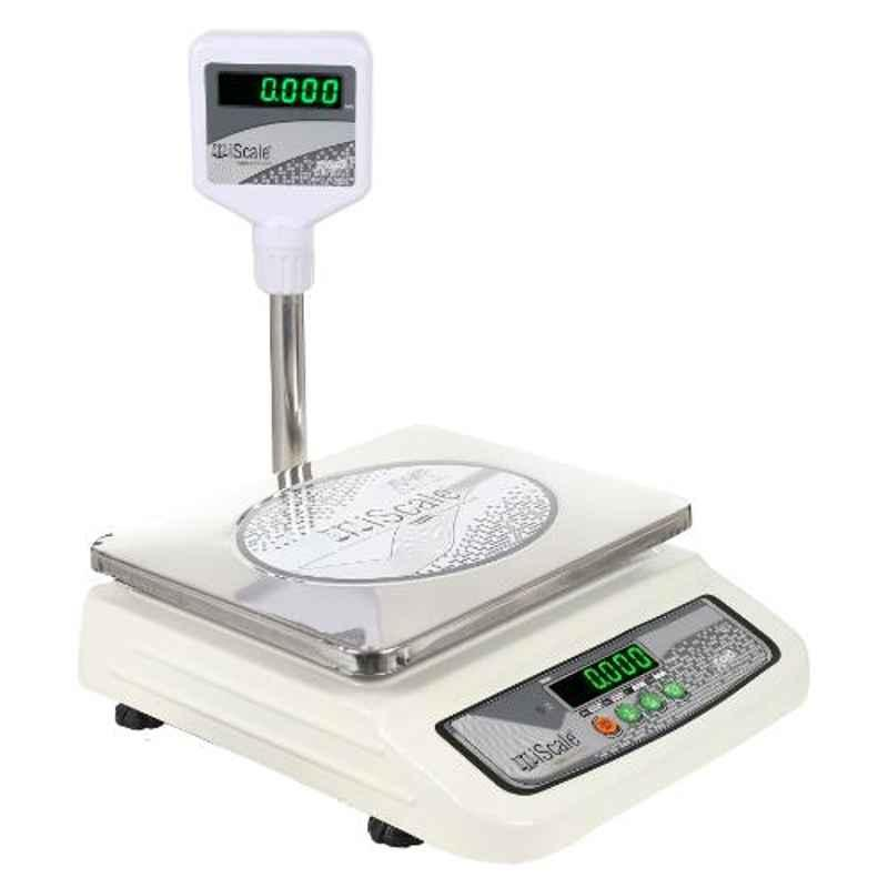 iScale i-05 30kg and 1g Accuracy Chargeable Weighting scale with Pole Green Display