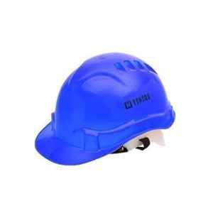 Heapro Blue Ratchet Type Safety Helmet, HR-001 (Pack of 5)