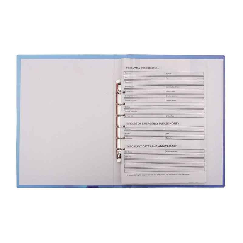 Stolt Fine Blue 120 Pages Business Diary with Refillable Pages