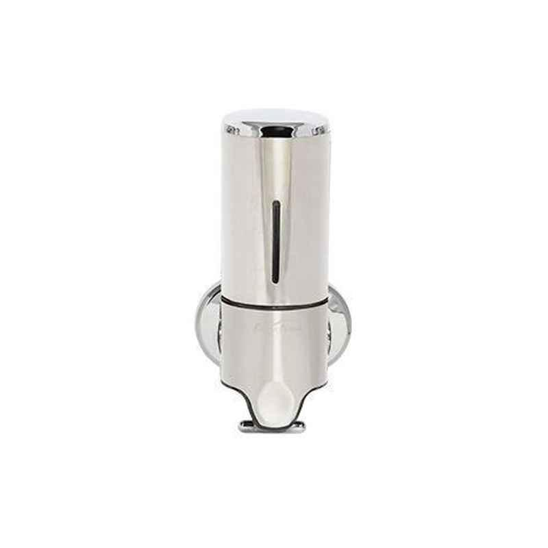 Bharat Photon 500ml Wall Mounted Stainless Steel Romantic & Staid Manual Dispenser, BP-MSA-141