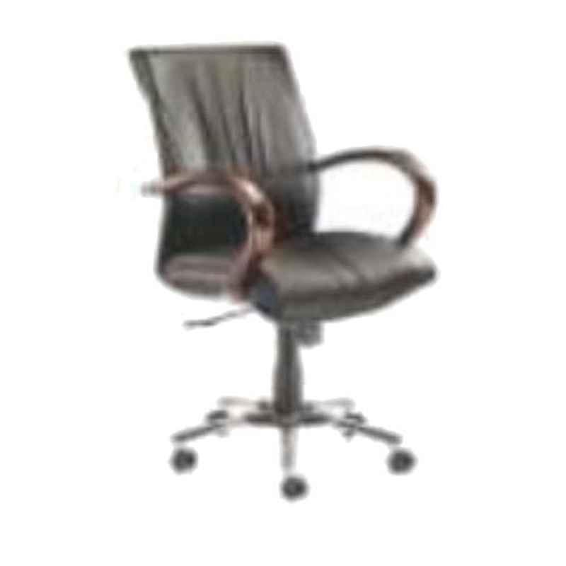 Nice Furniture Low Back Steel Base Executive Office Chair, NF-076