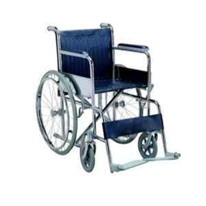 11 Enterprises 42 inch Black Patient Wheel Chair