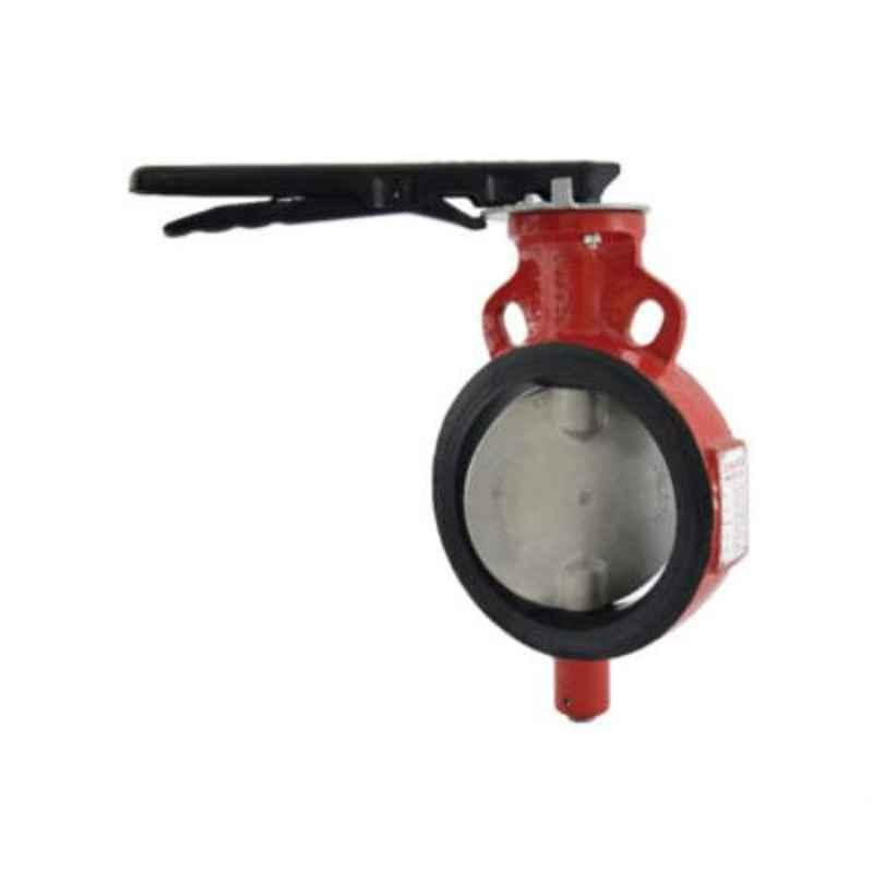 Zoloto 150mm Wafer Type PN 2.5 Butterfly Valve with S.S 304 Disc, 1078I