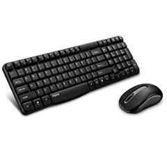 Rapoo X1800S Wireless Black Optical Mouse & Keyboard Combo