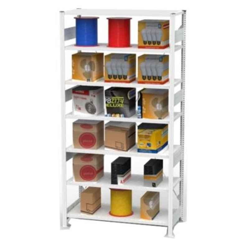 Godrej Altius Lite 1000x600x2200mm Steel Light Grey Storage Rack with 5 Layers