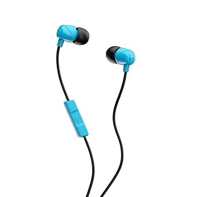Skullcandy Jib Blue Wired in-Earphone with Mic, S2DUYK-628