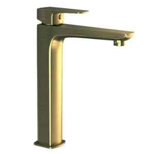 Jaquar Kubix Prime Antique Bronze Single Lever Tall Boy with 155mm Extension Body & 600mm Braided Hose, KUP-ABR-35005BPM