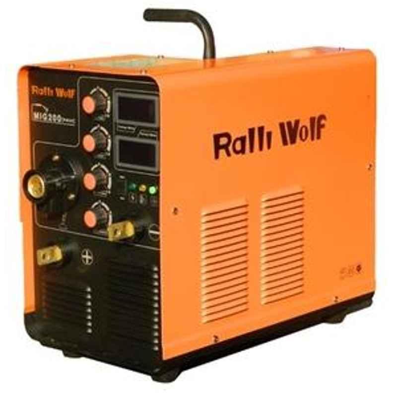 Ralli Wolf MIG 200S 1 Phase Mig/Mag Welder Machine