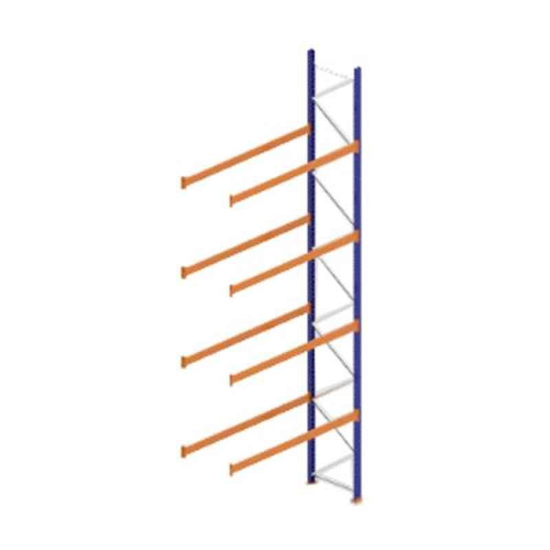 Godrej Ground Plus 4 Layers Steel Selective Pallet Racking, Max Load Capacity: 8000kg, Add on Unit: 7000x2700x1000mm (HxWxD)
