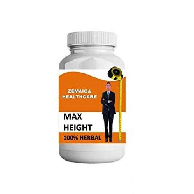Zemaica Healthcare 100g Orange Flavour Max Height Growth Ayurvedic Powder