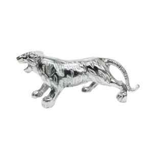 AllExtreme Car & Bike Chrome Styling Tiger Metal Emblem for Front Hood Bonnet & Mudguard
