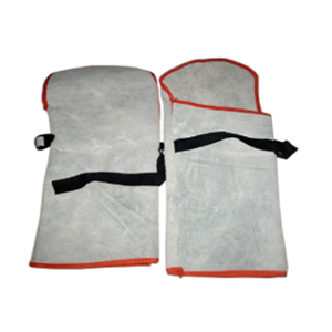 SRJ Leather Safety Hand Sleeves (Pack of 10)