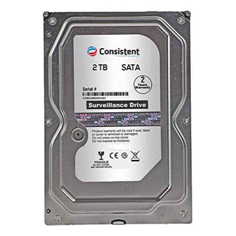 Consistent 2TB Hard Disk for Desktop