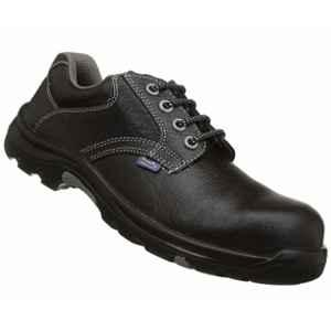 Allen Cooper AC-1427 Heat & Shock Resistant Black Safety Shoes, Size: 9