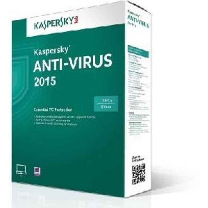 Kaspersky Antivirus 3 Users 3years Software