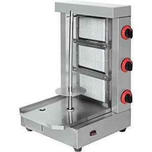 3- Burner Shawarma / Kebab Machine
