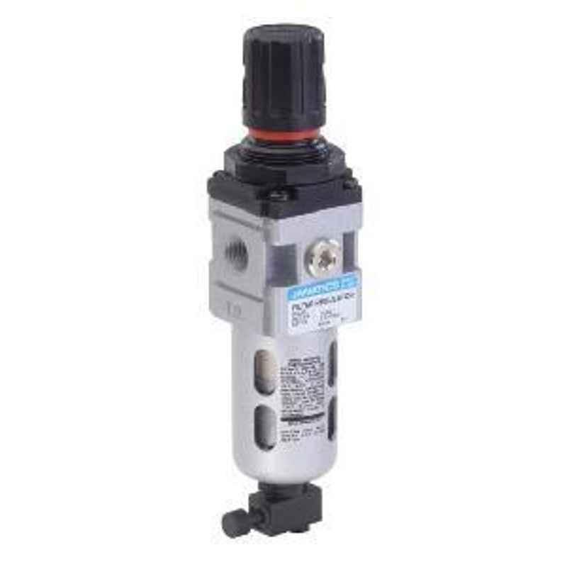 Janatics 1/4 Inch 40 Micron Filter Regulator Combination FRC136134