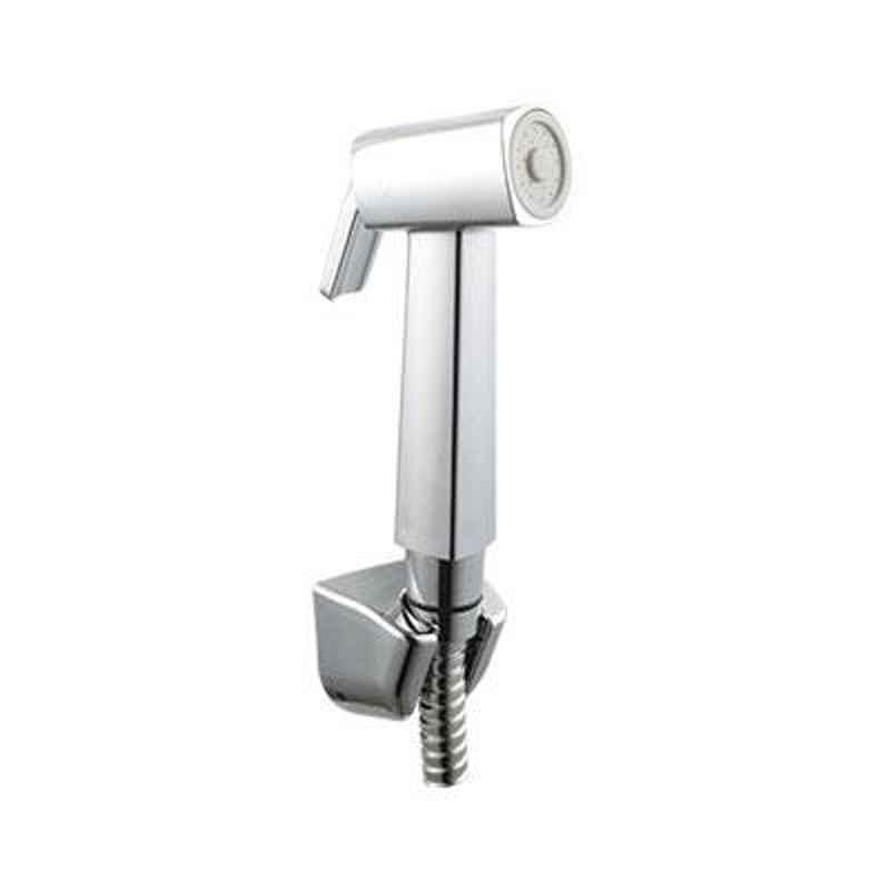 Hindware Chrome Gem Health Faucet with Hose Pipe & Hook, F160109CP