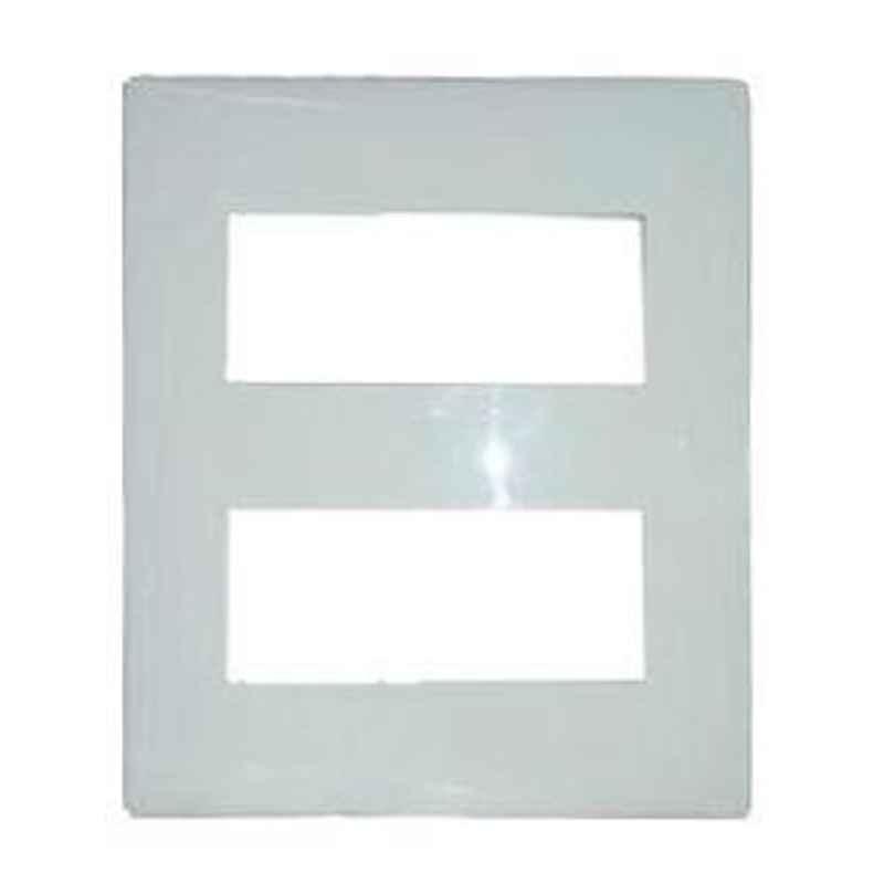 Legrand Mylinc 4x2 Module Cover Plate Silver Alu - 6763 86