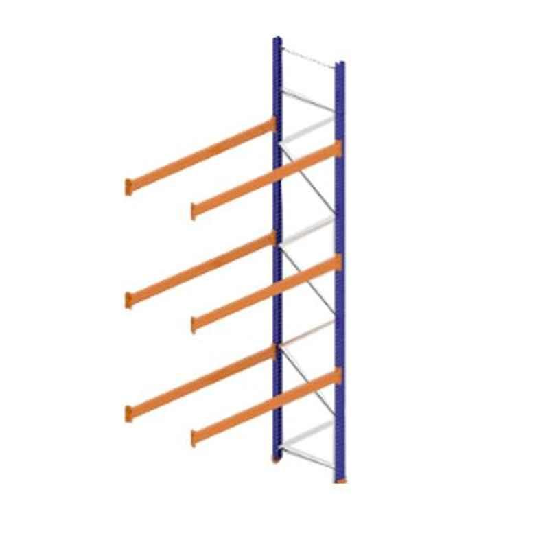 Godrej Ground Plus 3 Layers Steel Selective Pallet Racking, Max Load Capacity: 6000kg, Add on Unit: 5000x2700x1000mm (HxWxD)