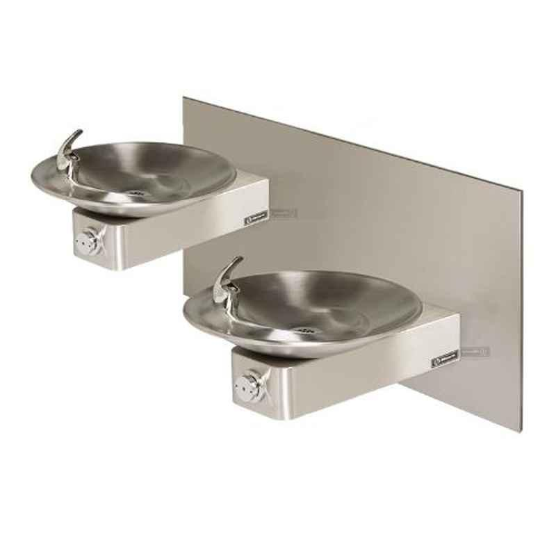 Haws 1011 Stainless Steel Barrier Free Dual Wall Mount Fountain