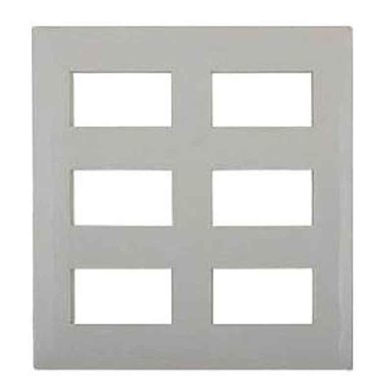 Legrand Mylinc 18 Module Cover Plate Silver Alu - 6763 89