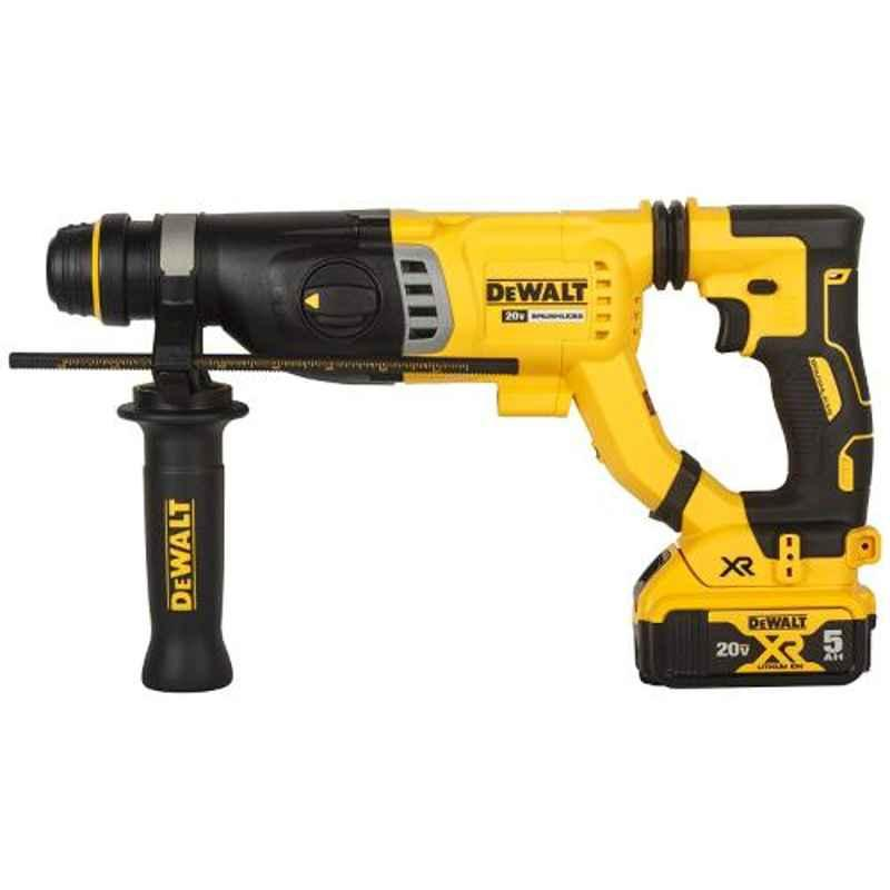Dewalt 18V 28mm Cordless Rotary Hammer Drill with Brushless Motor, DCH263P2