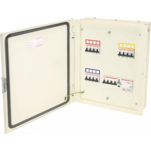 Indoasian Optipro IP54 16 Way TPN Double Door Distribution Boards, 811862