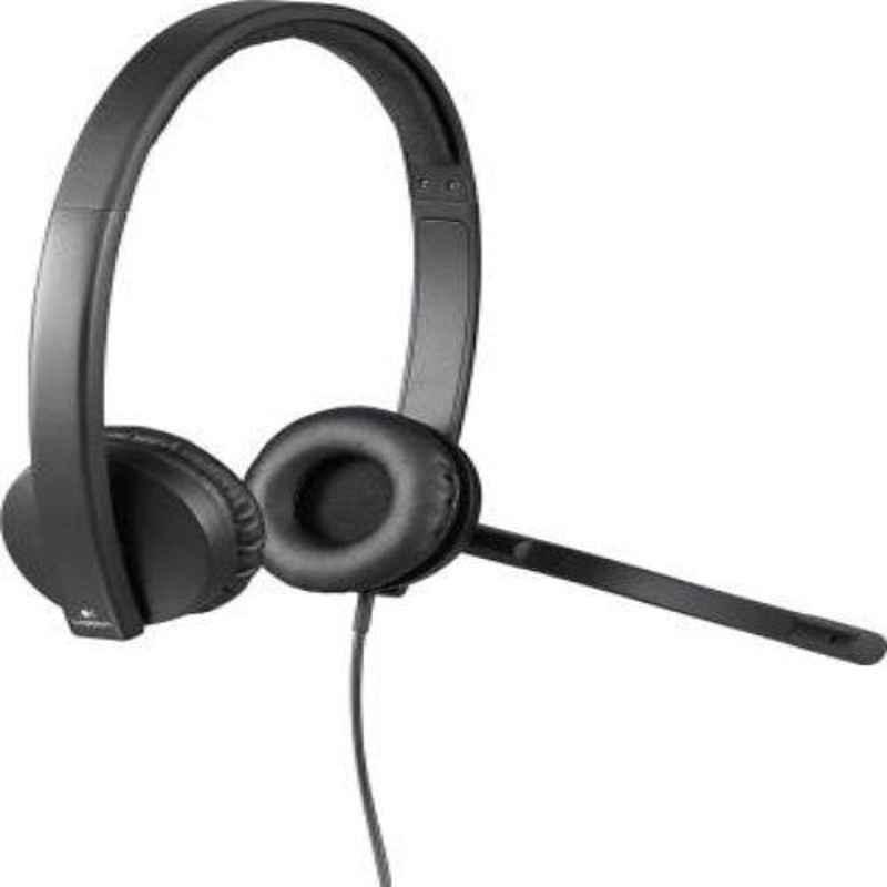Logitech H570 Black Wireless Headset with USB Receiver