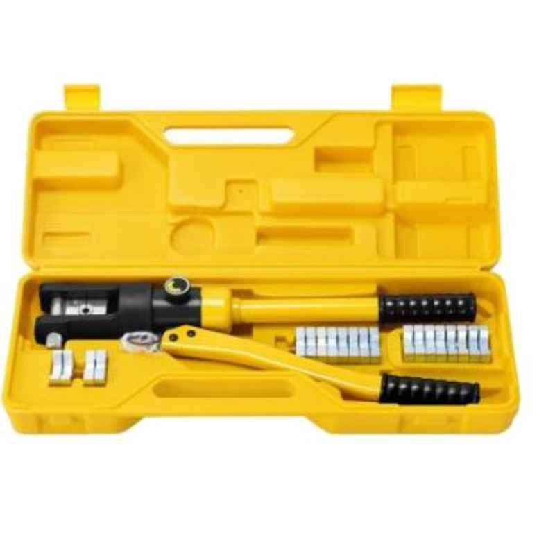 GSK Cut 16-300mm Hydraulic Wire Crimping Tool with 11 Dies