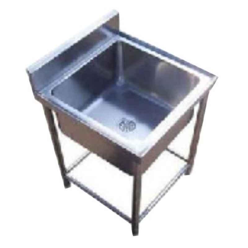 Star Fabricator 600x600x850+100cm Single Bowl Stainless Steel Kitchen Sink