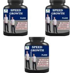 Hindustan Ayurveda 100g Plane Speed Growth Height Supplement (Pack of 3)