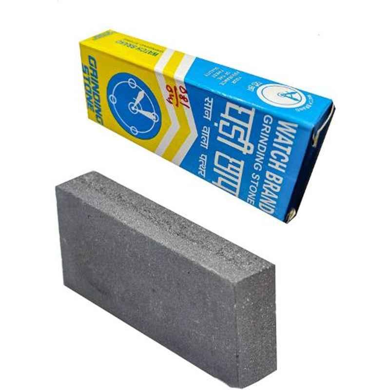 Johnson Tools 4 inch Grey Sharpening Stone for Sharpening & Removing Nicks, JT-4IN