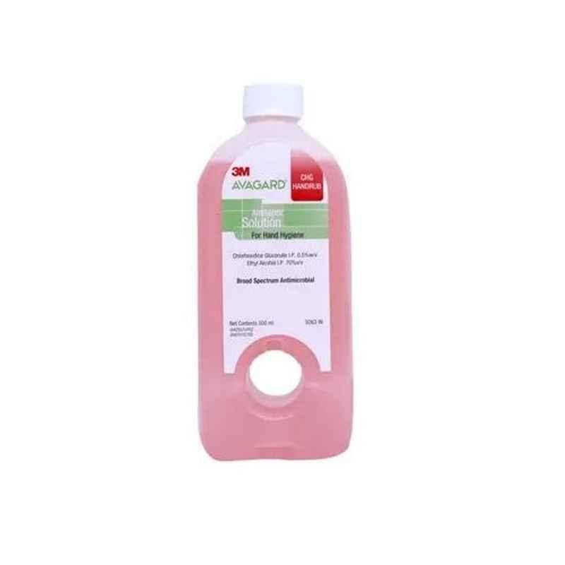 3M Avagard 500ml CHG Handrub Antiseptic Solution, 9263-IN (Pack of 2)