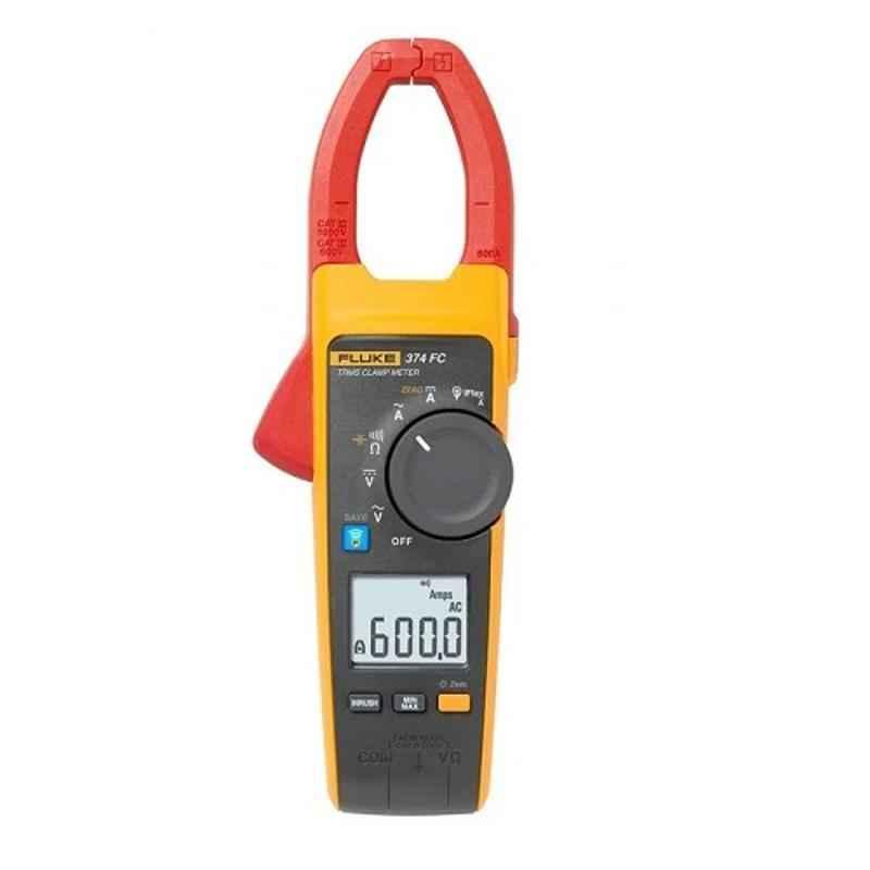 Fluke 374FC 600A 1000V TRUE RMS Clamp Meter