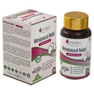 Everteen 90 Pcs Black Cohosh Menopausal Relief Natural Capsules for Hot Flashes