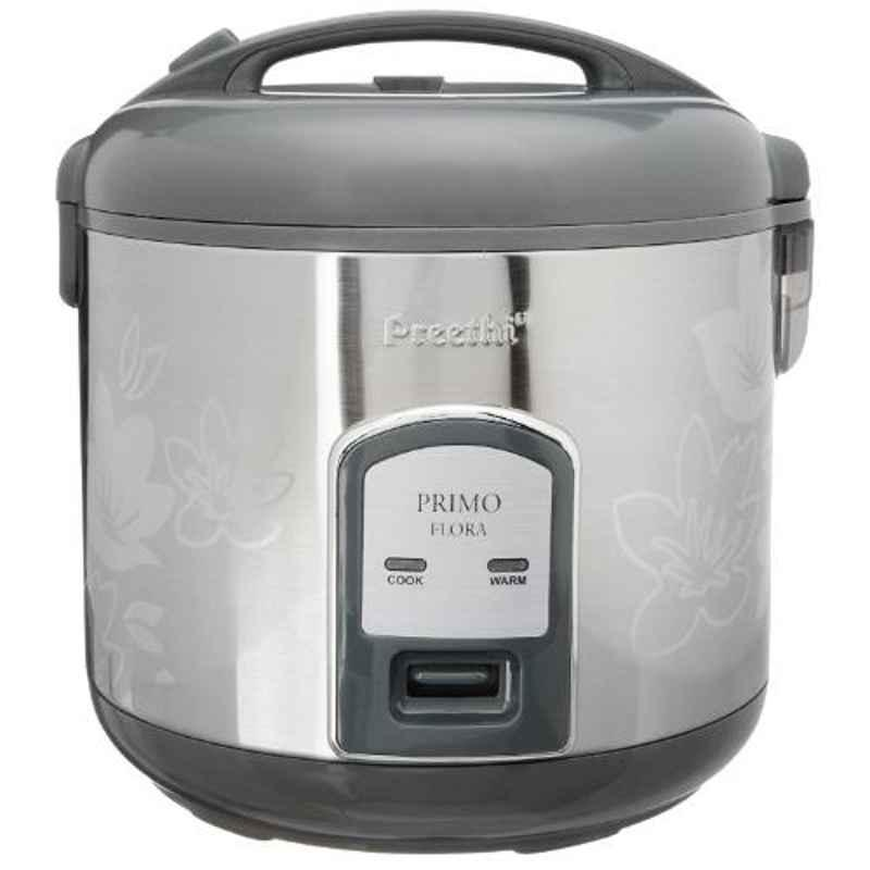 Preethi Primo Single Pan 1.8L 700W Electric Rice Cooker, RC311P18