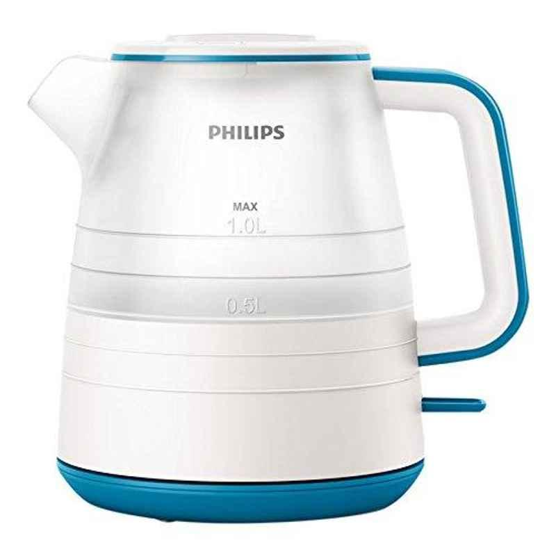 Philips Daily Collection 1L 2000W Plastic Kettle, HD9344/14