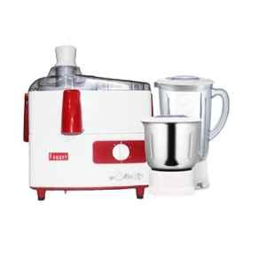 Fogger 500W Red & White Juicer Mixer Grinder with 2 Jars