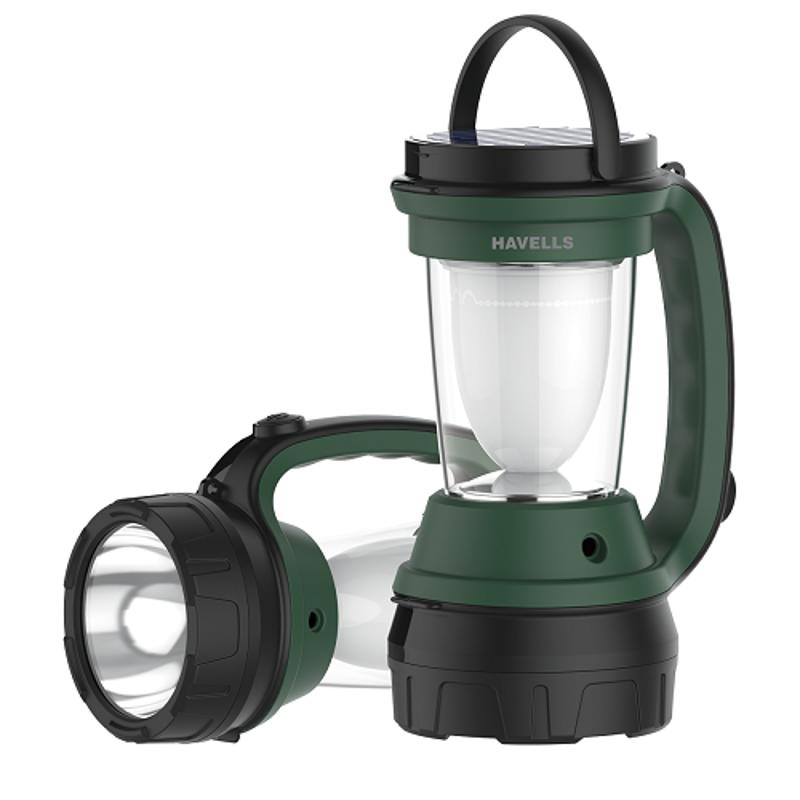 Havells Dazzle Plus 5W 2 In 1 Solar Lantern Cum Torch