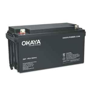 Okaya 12V 45Ah Rechargeable SMF or VRLA Battery, OB-45-12